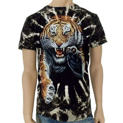 T-shirt med tiger på